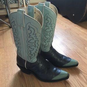 Tony Lama cowboy boots size 8 women's